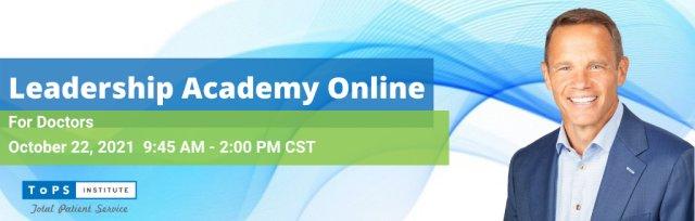 Leadership Academy Online for Doctors