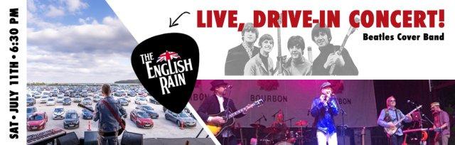 Community Comeback Concert featuring The English Rain