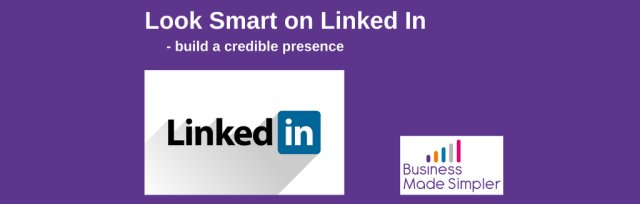 Look Smart on Linked In