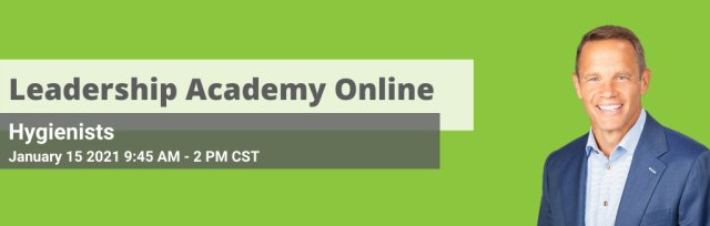 Hygienists Leadership Academy On-line