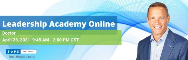 Doctors Leadership Academy Online