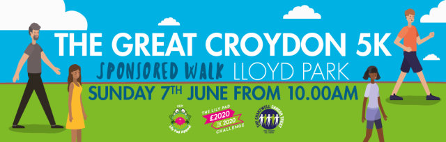 The Great Croydon 5K Sponsored Walk