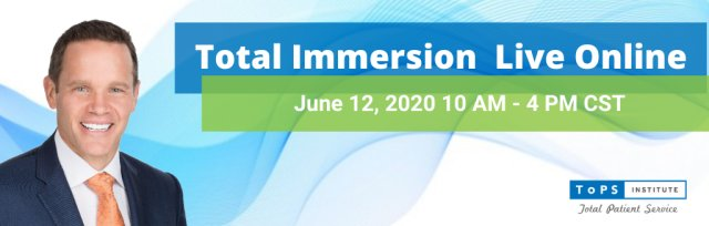 Total Immersion Live Online June 12, 2020