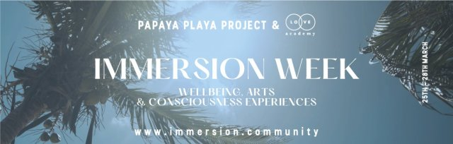 IMMERSION Experiences March