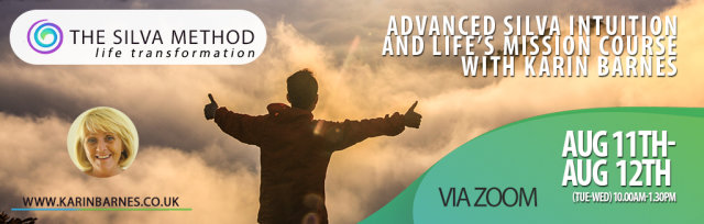 Advanced Silva Intuition and Life's Mission course [CID:476] For Silva Graduates