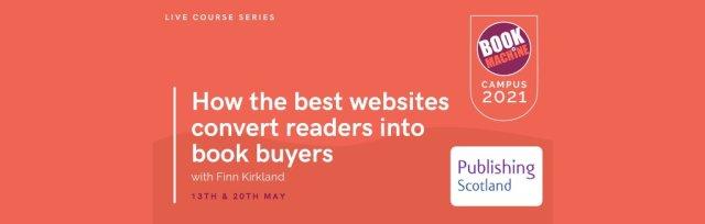 How the best websites convert readers into book buyers