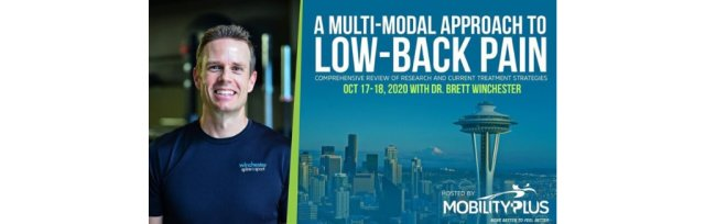 A MULTI- MODAL APPROACH TO LOW-BACK PAIN