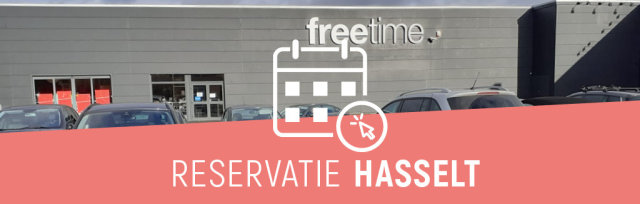 Reservatie winkelbezoek Freetime Hasselt
