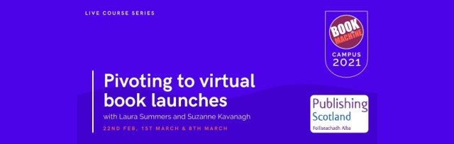 Pivoting to virtual book launches