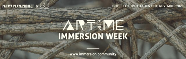 ART WITH ME  IMMERSION WEEK