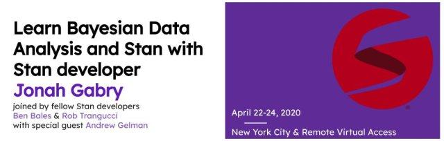 Learn Bayesian Data Analysis and Stan with Jonah Gabry [Virtual]