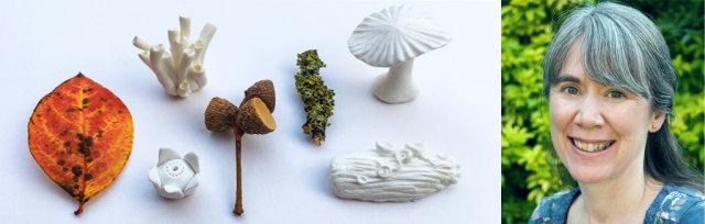 Autumn Treasures Workshop - Polymer Clay Fungi & Lichen