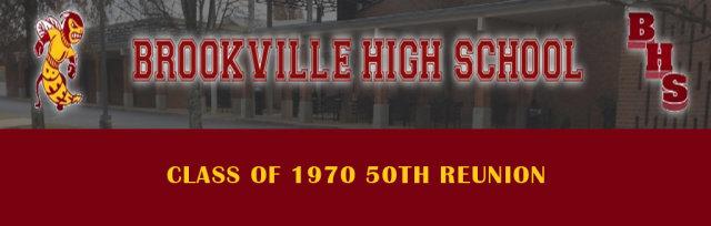 Brookville High School Class of 1970 50th Reunion