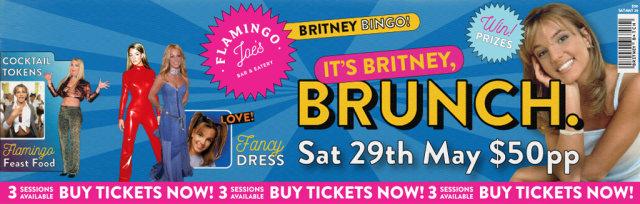 It's Britney, Brunch.