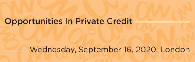 Opportunities In Private Credit