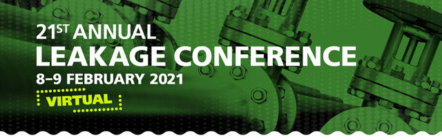 21st Annual Leakage Conference - Virtual - 2-day Conference and Expo and Hub