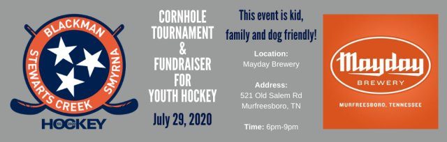 Cornhole Fundraiser for Youth Hockey