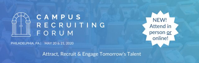 Campus Recruiting Forum - Philadelphia