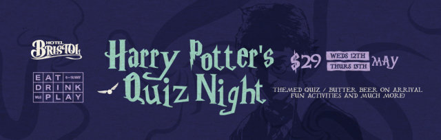 Harry Potter's Quiz Night