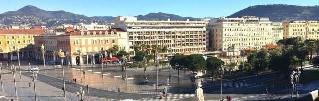 "Online travel to Nice. ""A lovely part of French Riviera"""