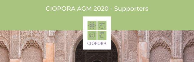 CIOPORA AGM 2020 in Marrakesh (Supporters)