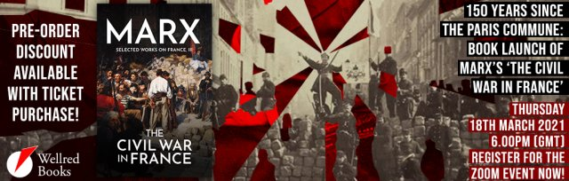150 Years Since the Paris Commune: Marx's 'The Civil War in France' Book Launch