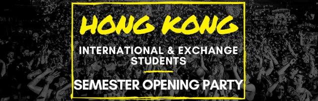 Hong Kong Exchange & International Students Semester Opening Party