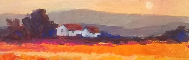 Loose and Lively Landscapes  in Acrylics with Karen Carter [Ref#455]