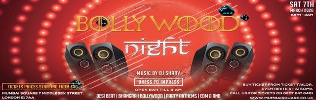 Bollywood Night // Live DJ Set