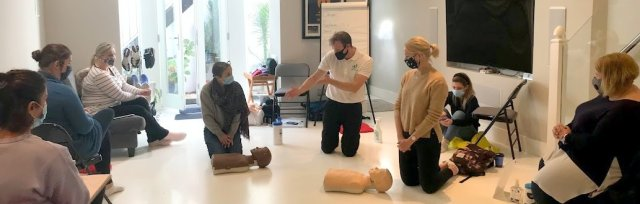 (EFAW) Emergency First Aid at Work (including Child First Aid and additional topics)
