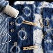 Shibori & Indigo Dye Workshop image