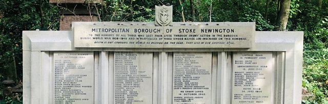 Coronation Avenue 80th Anniversary: Civilian War Memorial Restoration Event