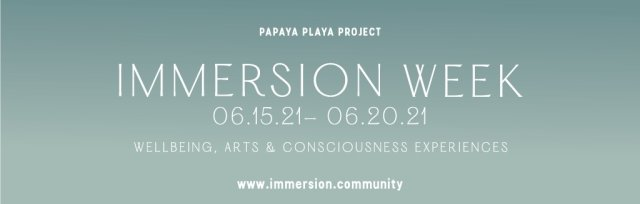 JUNE IMMERSIONS - SOLSTICE IMMERSION + SPECIAL EVENTS & YOGA, SUN GUARDIANS, LOVE IMMERSION & MOON LIGHT TICKETS