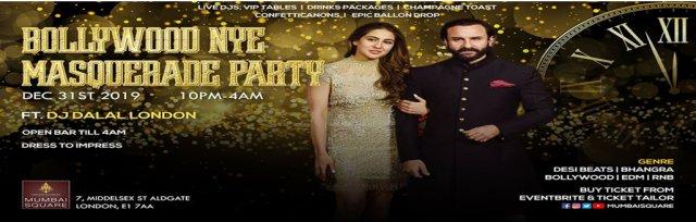 Bollywood NYE Masquerade Party
