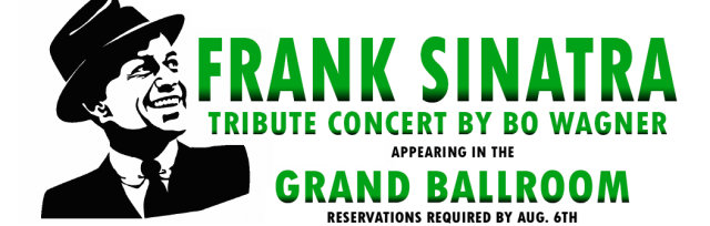 Frank Sinatra Tribute Concert by Bo Wagner