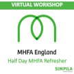 Mental Health First Aider (MHFA) - Virtual 4 hour Refresher Training image