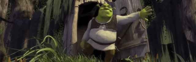 Shrek at the Stone Drive-In
