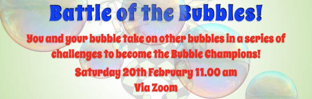 DO Try This at Home Online! Battle of the Bubbles!