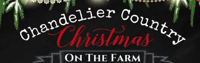Chandelier Country Christmas on the Farm