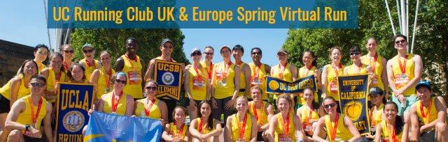 UC Running Club UK & Europe Spring Virtual Run