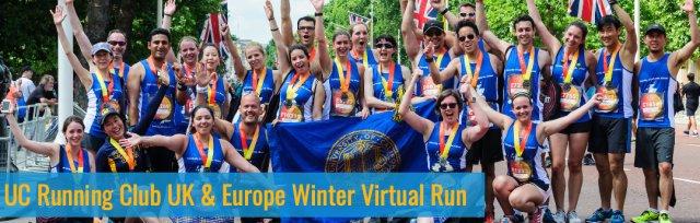 UC Running Club UK & Europe Winter Virtual Run