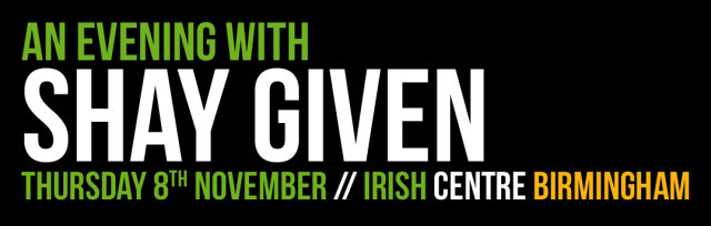 An Evening with Shay Given