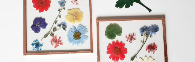 Pressed Flower Collage Workshop