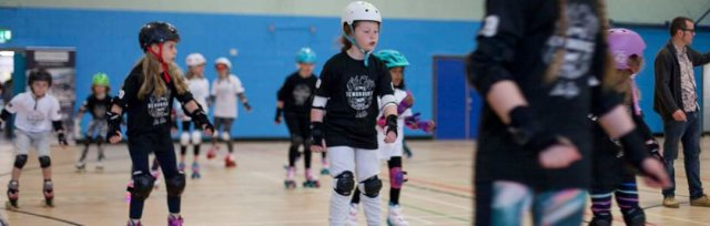 Junior SK8ercise lessons leading on to Junior Roller Derby