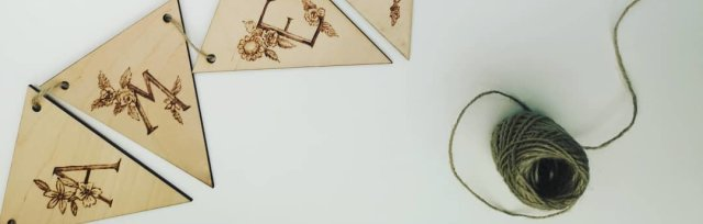 Pyrography Wooden Bunting Workshop