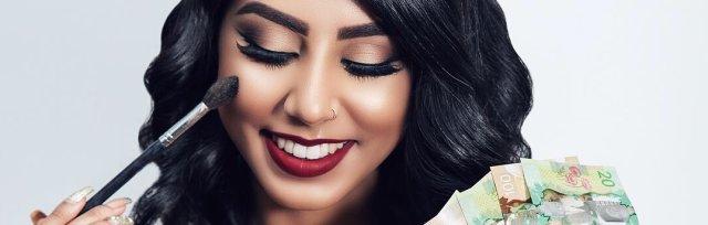 Buy tickets for Glow-Getter: Makeup Masterclass & Business Seminar