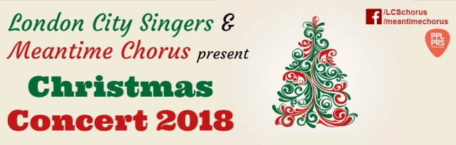 London City Singers and Meantime Chorus Christmas Concert