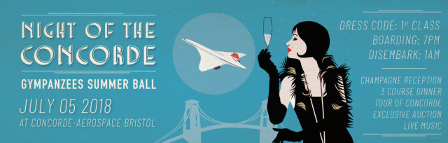 Night of the Concorde - The Gympanzees Summer Ball