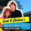 SCOTT & CHARLENE'S 80S SUMMER HOUSE PARTY! (ROOM 1) image