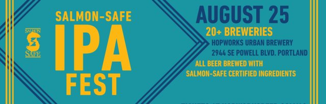 Volunteer for the Salmon-Safe IPA Festival